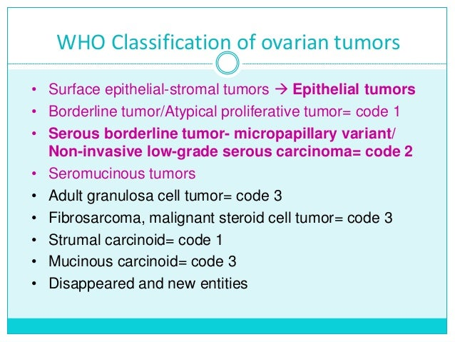 Ca Ovary Staging Ajcc 8th Edition Figo 2014 And Classification