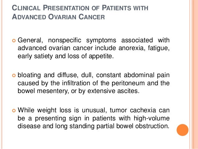 Ca Ovary Staging Etiology Pathogenesis