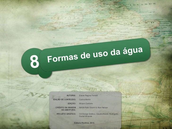 AUTORIA:   Eliane Regina FerrettiEDIÇÃO DE CONTEÚDO:   Carina Merlin            EDIÇÃO:   Miriam Conforto  CRÉDITO DA IMAG...