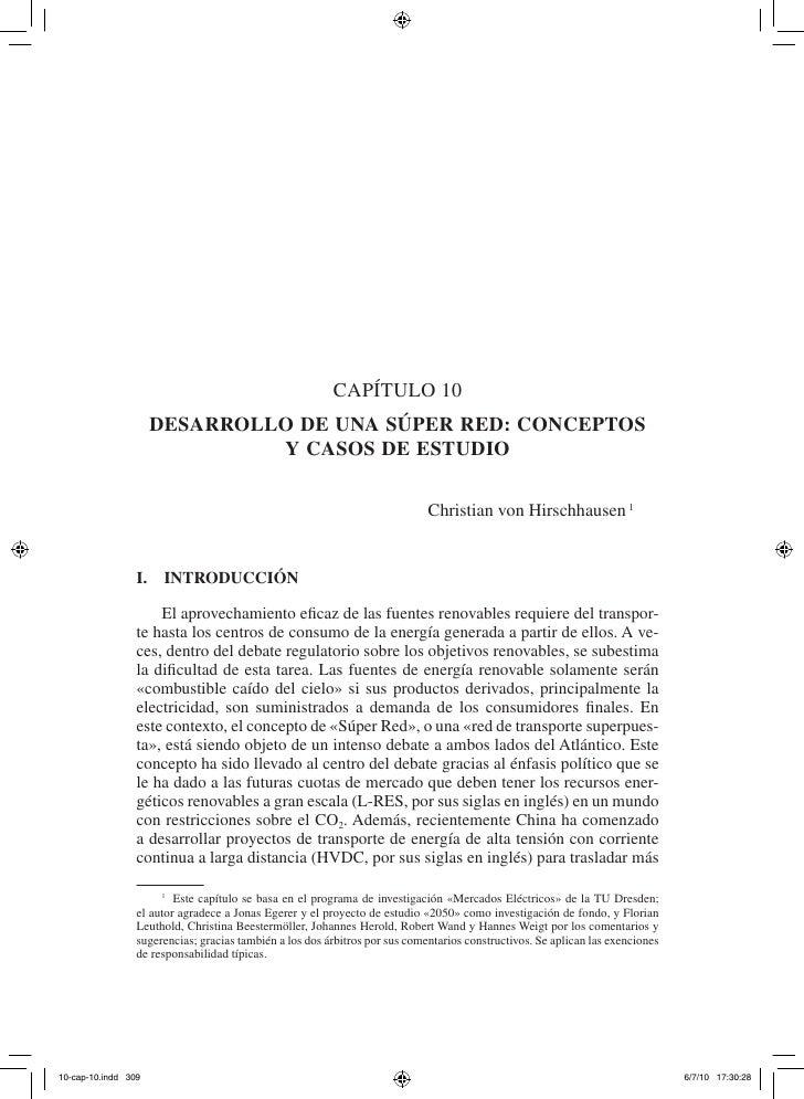 capítulo 10   Desarrollo De una súper reD: ConCeptos            y Casos De estuDio                                        ...