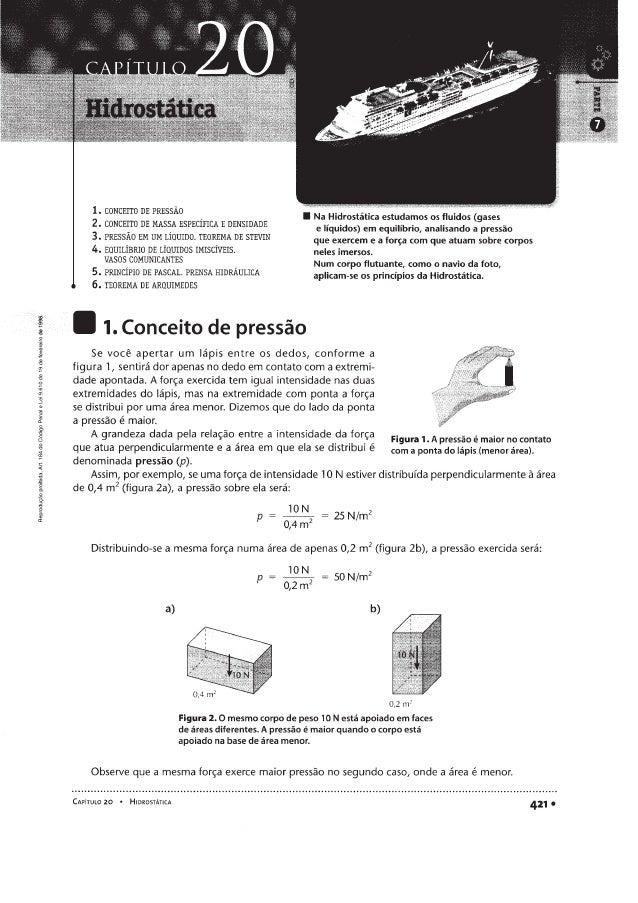 Hidrostática - Fundamentos de Física - Ramalho
