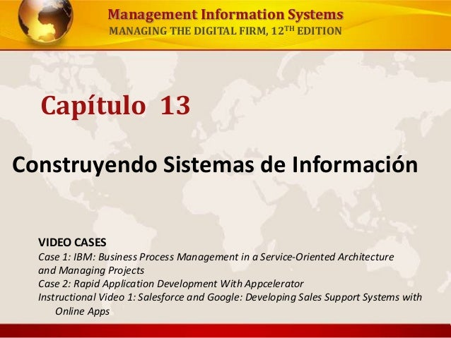 management information systems managing the digital firm 12th edition