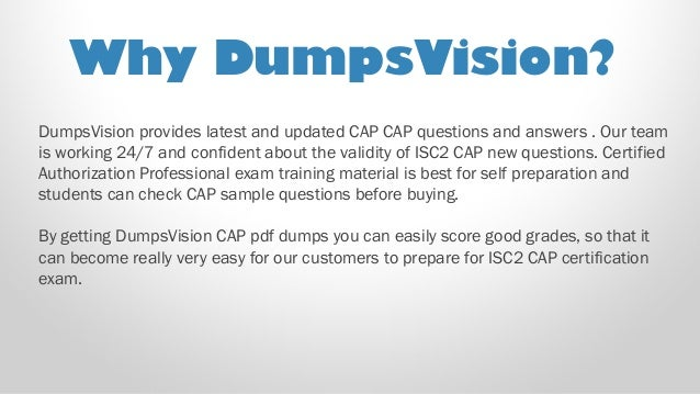 188a5f78ee8 A publication of  PDF Questions  Testing Engine  3. DumpsVision provides  latest and updated CAP CAP ...