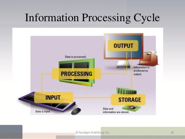 Information Processing Cycle          © Paradigm Publishing, Inc.   28