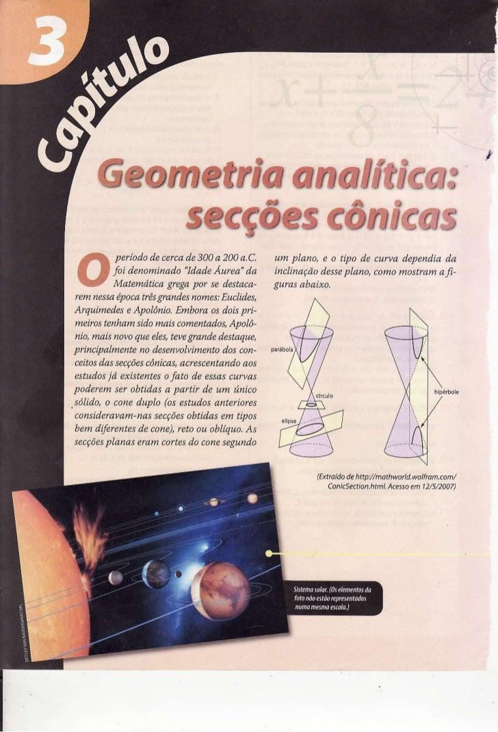 Ê     Geonretria              anaÍff$cw*        secçôes eômfems          periododecerca 300a 200/t.C. um plano, e o típo d...