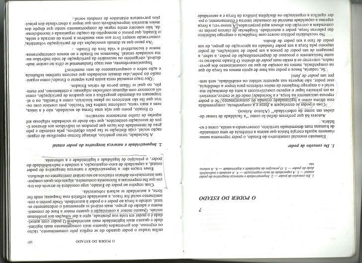 """Cap. 8 e 9 """"Ciência Política"""" - Paulo Bonavides"""