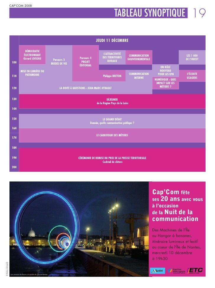 Programme Forum 2008