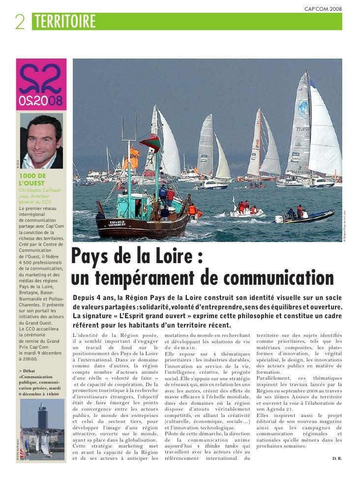 CAP'COM 2008   2 TERRITOIRE © CCO                    1000 DE                L'OUEST                Christophe Caillaud-   ...