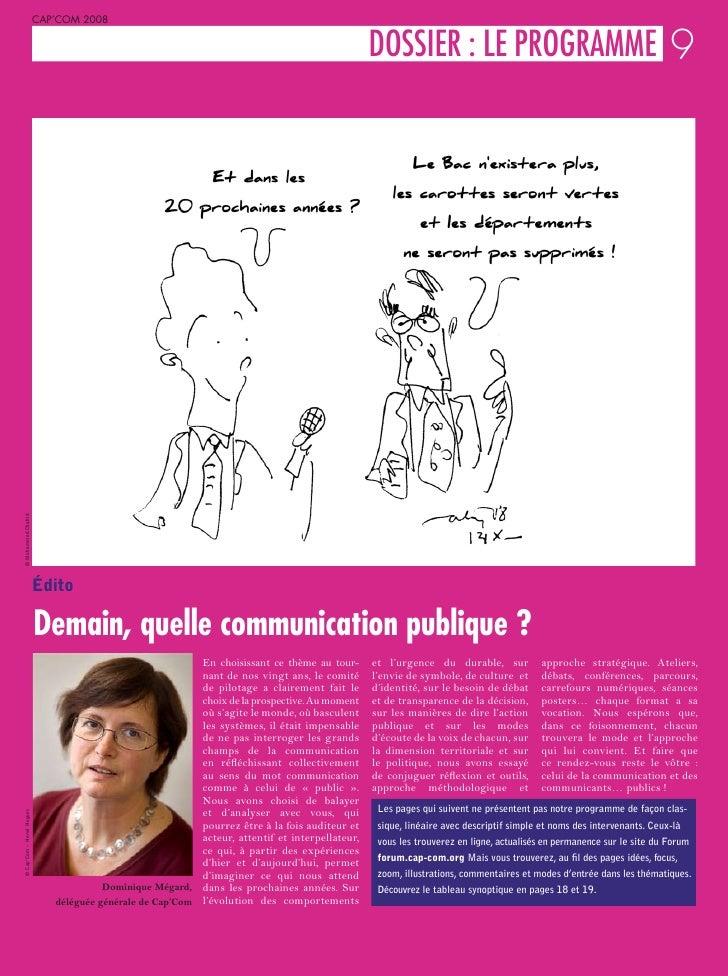 CAP'COM 2008                                                                                              L DOSSIER : LE P...