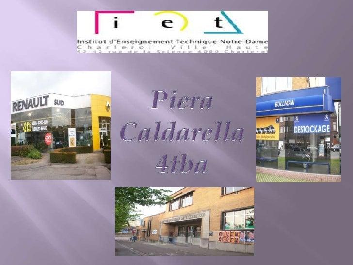 Piera<br />Caldarella<br />4tba<br />