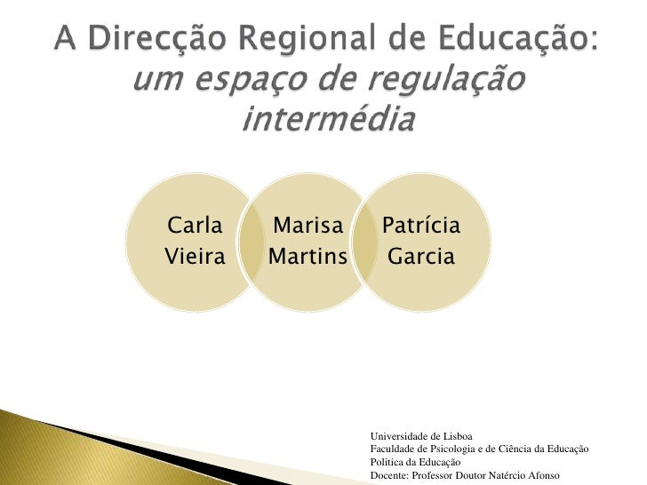 Carla    Marisa      Patrícia Vieira   Martins     Garcia                        Universidade de Lisboa                   ...