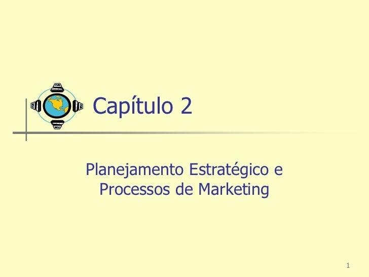 Capítulo 2Planejamento Estratégico e  Processos de Marketing                             1