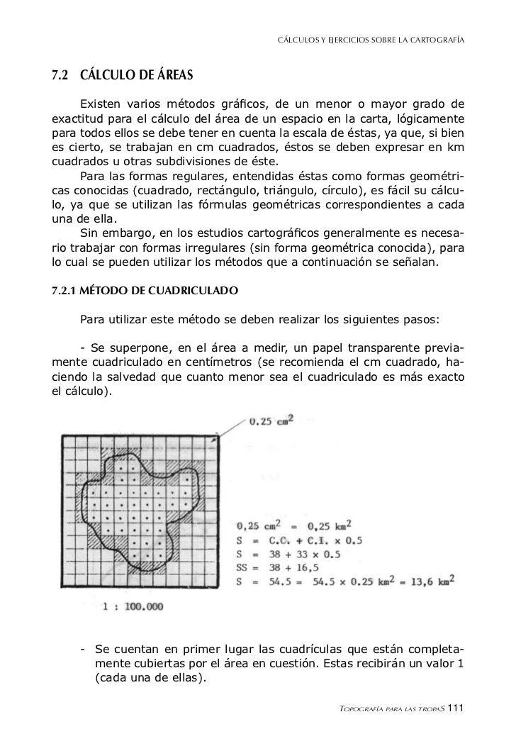 Cap 07 cálculos y ejercicios sobre la cartografía
