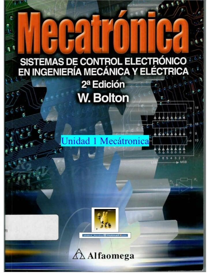 Unidad 1 Mecátronica