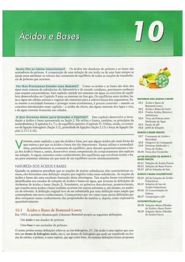 Cap10   ácidos e bases