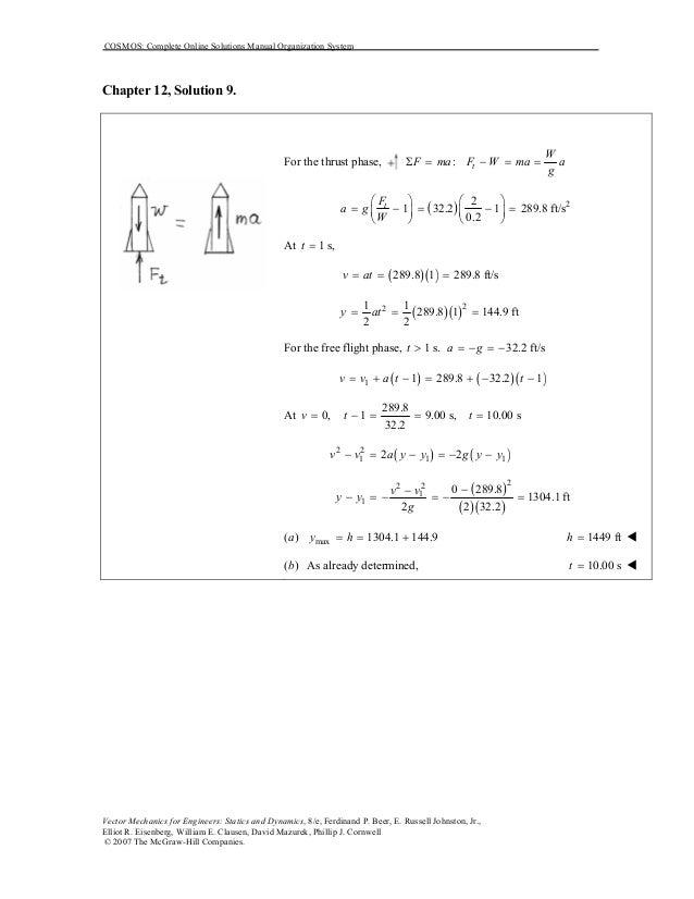 solucionario de beer johnston dinamica 8 edicion gratis