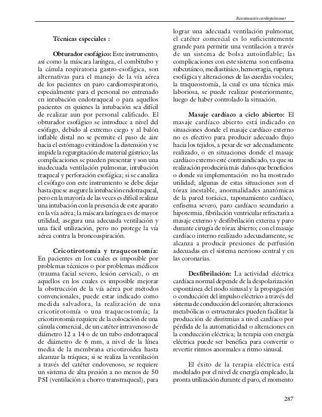 Cap16 reanimacion cardiopulmonar