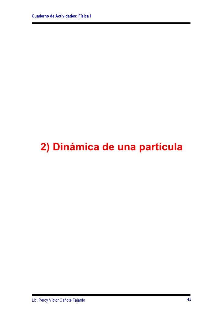 Cap 2 1- dinamica de una particula  42-62-2009 i