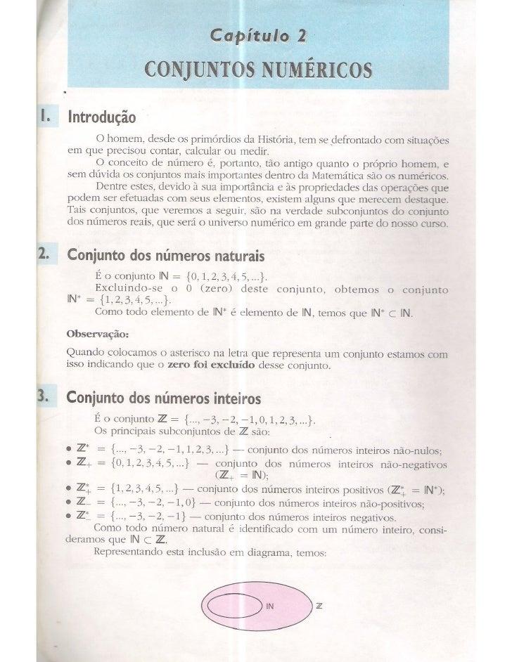 Cap 2   conjuntos numéricos