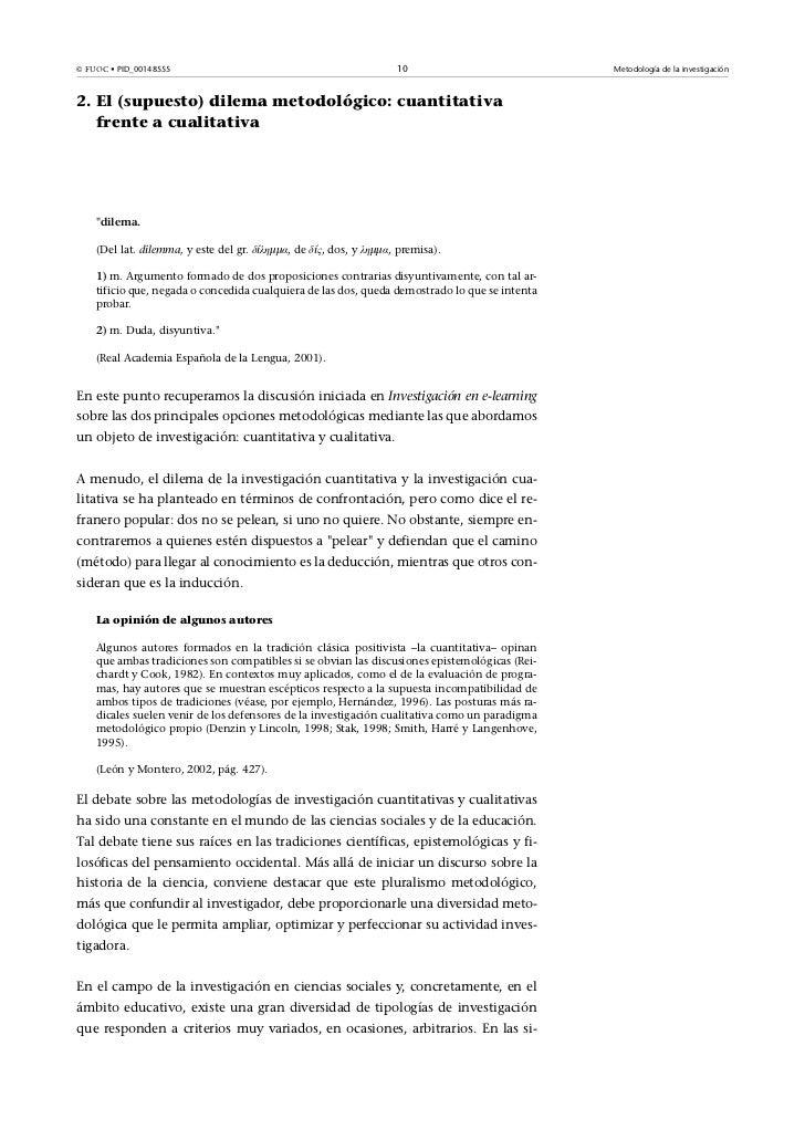 © FUOC• PID_00148555                                               10                          Metodología de la investig...