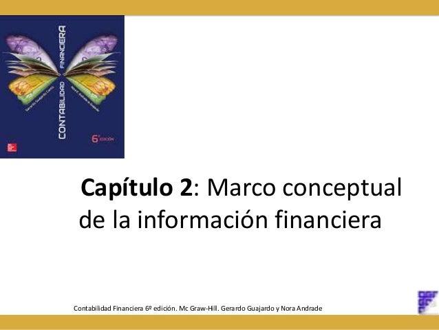 Capítulo 2: Marco conceptual de la información financiera Contabilidad Financiera 6º edición. Mc Graw-Hill. Gerardo Guajar...