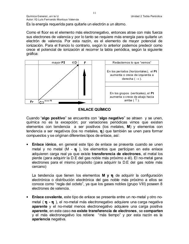 Cap 2 tabla periodica potencial de ionizacin pi 11 urtaz Images