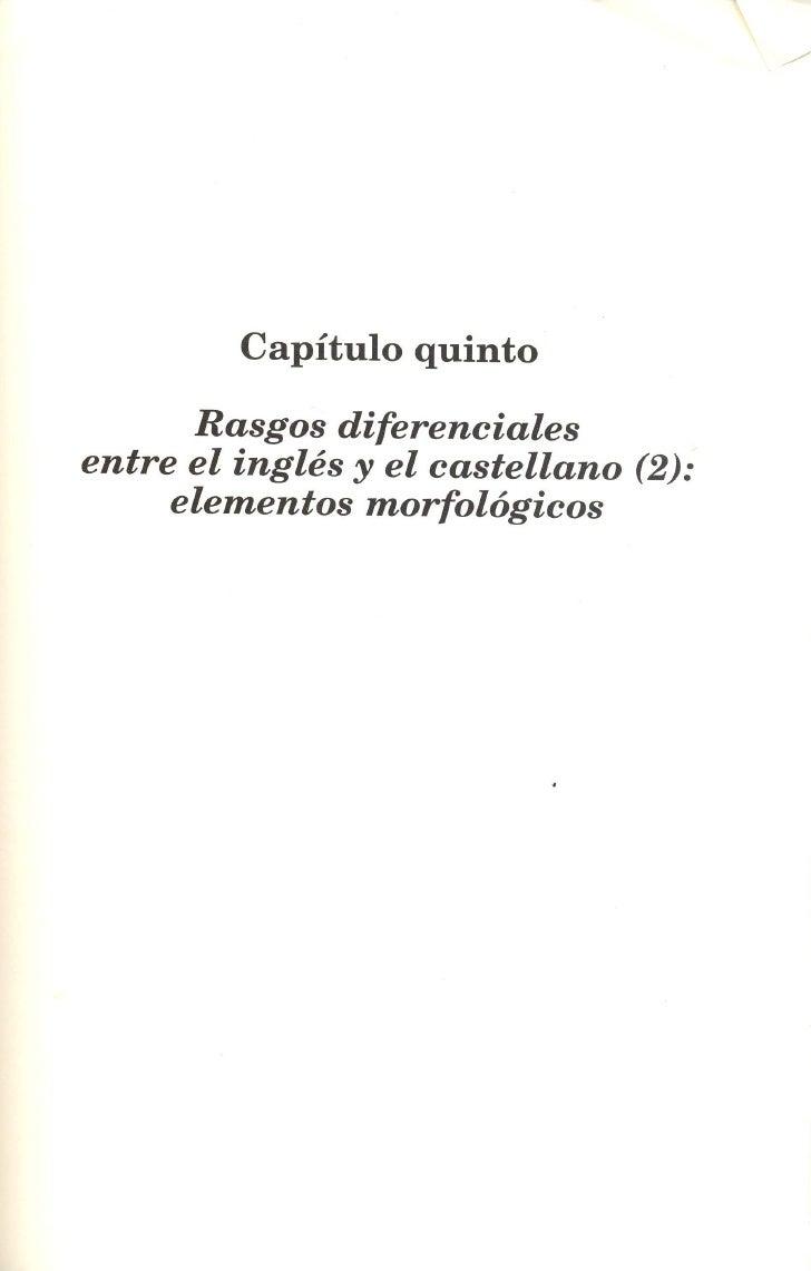 Cap 4 Rasgos diferenciales inglés castellano 2