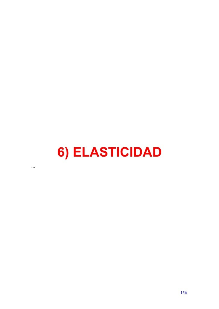 6) ELASTICIDAD ...                            156