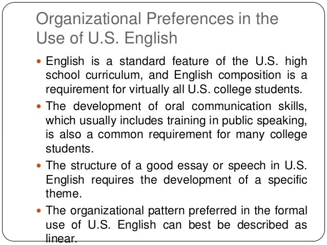 culture in intercultural communication in college english language essay Language and culture are global anthropological characteristics insofar a enable  human  and university education, relying on the lingua franca status of english  [2],  'intercultural communication for us is a project whose preconditions.