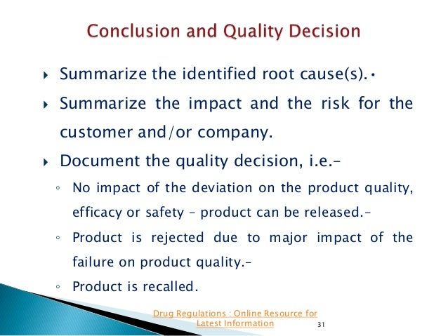   Summarize the identified root cause(s).•    Summarize the impact and the risk for the customer and/or company.    Doc...