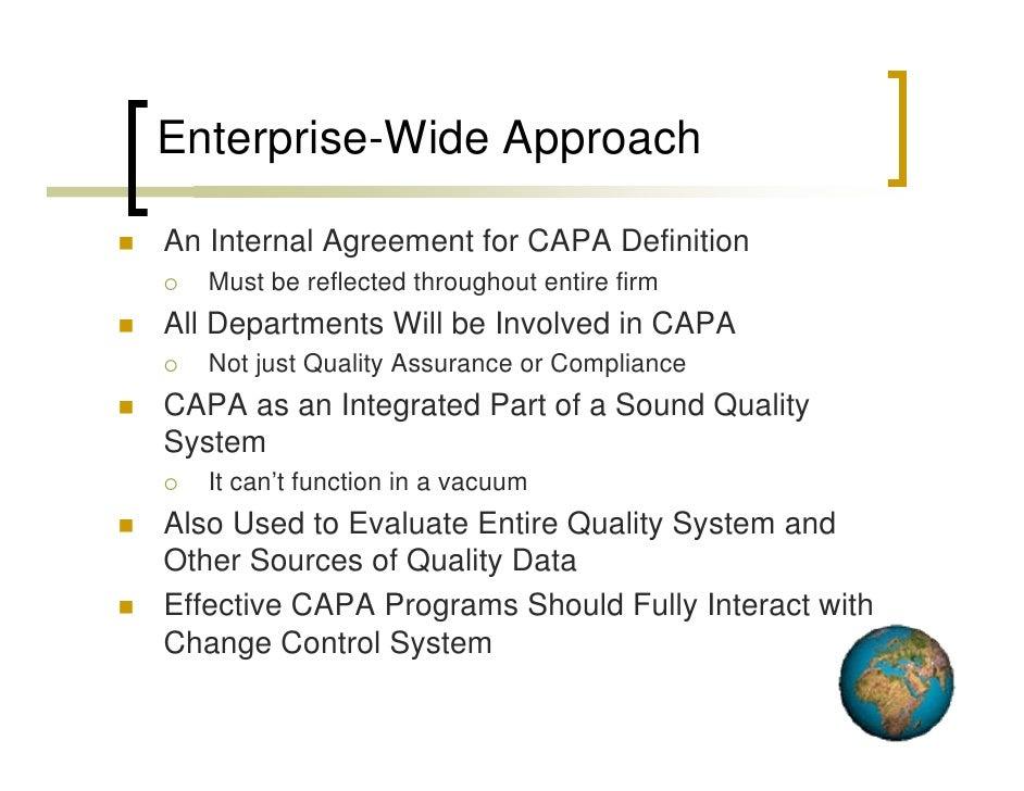 CAPA within the Pharmaceutical Quality System - fda.gov