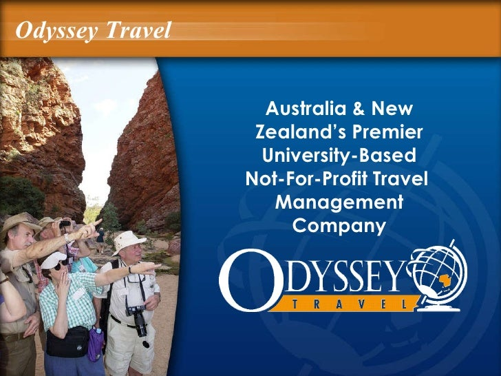 Australia & New Zealand's Premier University-Based Not-For-Profit   Travel  Management Company Odyssey Travel