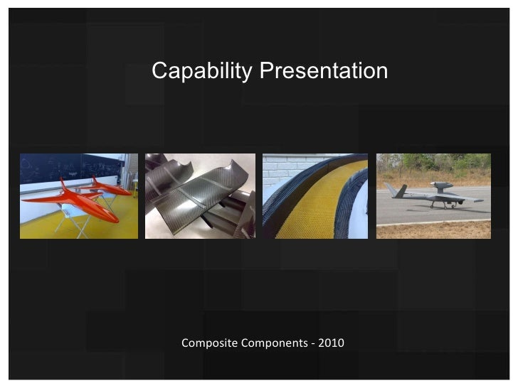 Capability Presentation Composite Components - 2010