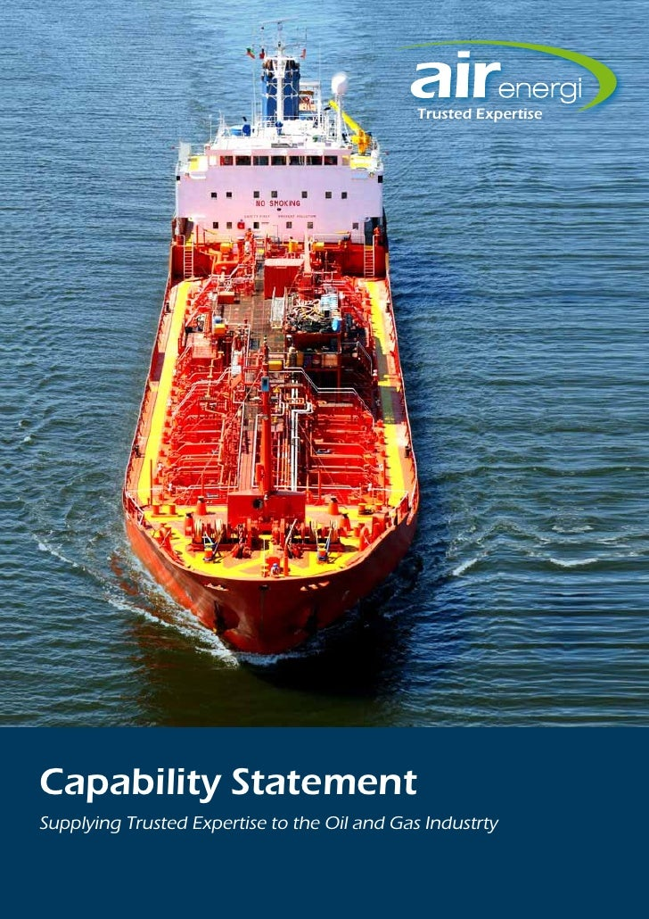 Trusted ExpertiseCapability StatementSupplying Trusted Expertise to the Oil and Gas Industrty