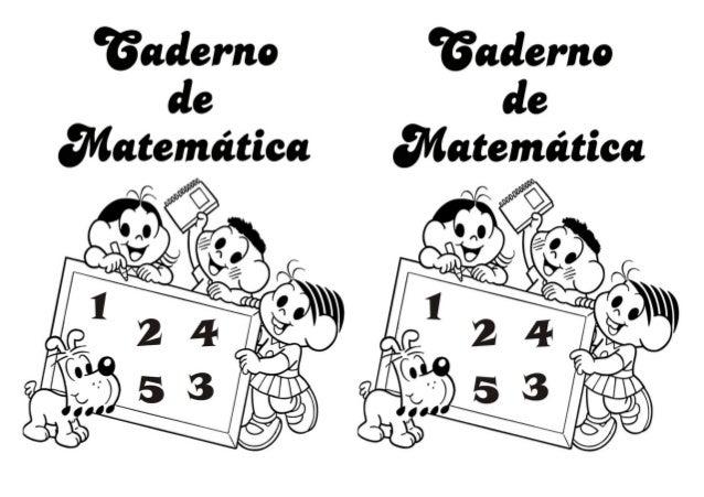 Capa Caderno Matematica