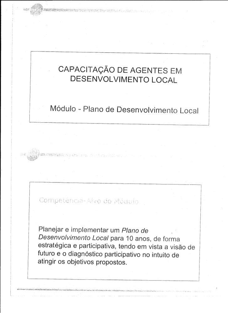 Capaciatção de agentes em desenvovimento local0001