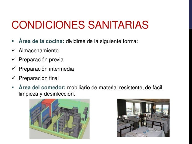 Buenas practicas de manufactura catering for Metodos de limpieza y desinfeccion en el area de cocina