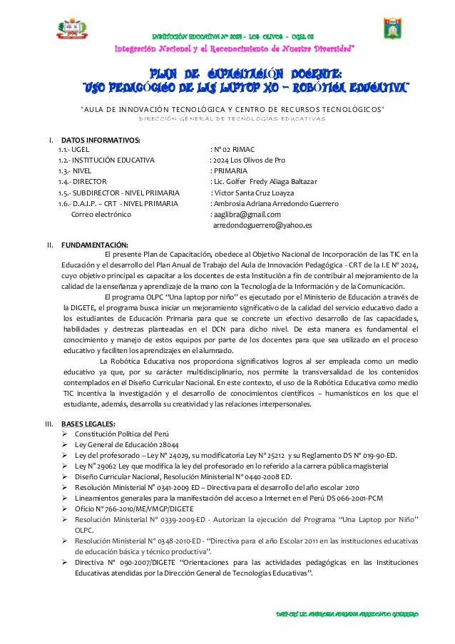 INSTITUCIÓN EDUCATIVA Nº 2024 - LOS OLIVOS - UGEL 02                         Integración Nacional y el Reconocimiento de N...