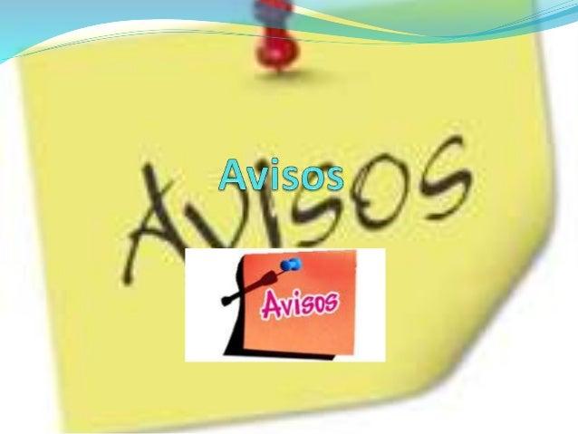 Avisos-Comunicados Hasta el latín habría que marcharse para poder encontrar el origen etimológico del término comunicado q...