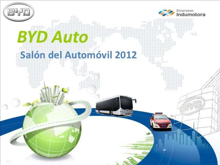 BYD AutoSalón del Automóvil 2012