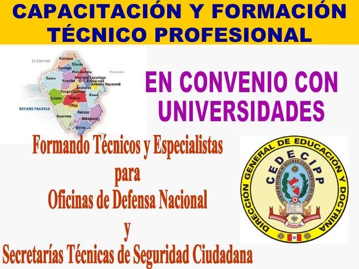 Capacitaci n y formaci n t cnico profesional for Convenio oficinas tecnicas