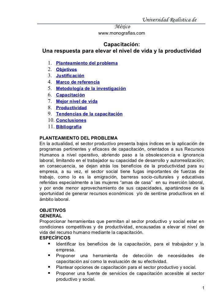 Universidad Realística de                                     México                             www.monografias.com      ...