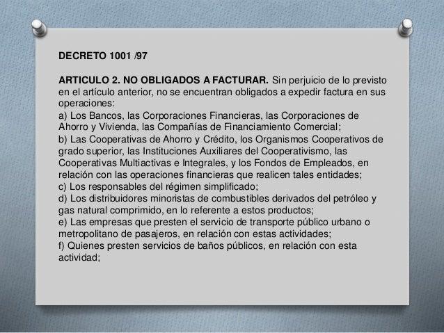 DECRETO 1001 DE 1997 EBOOK
