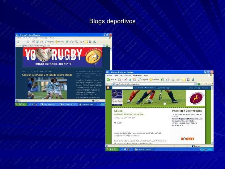 Blogs deportivos