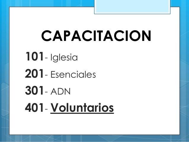 CAPACITACION 401 IGLESIA DE DIOS MISIONERA Slide 2