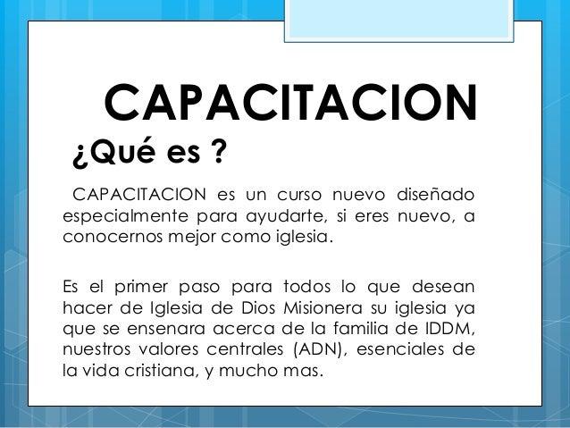 CAPACITACION 401 IGLESIA DE DIOS MISIONERA Slide 3