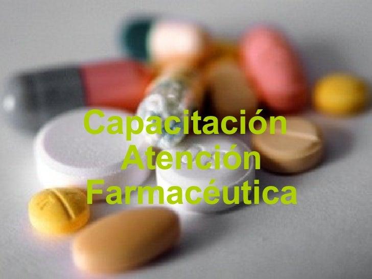 Capacitación Atención Farmacéutica