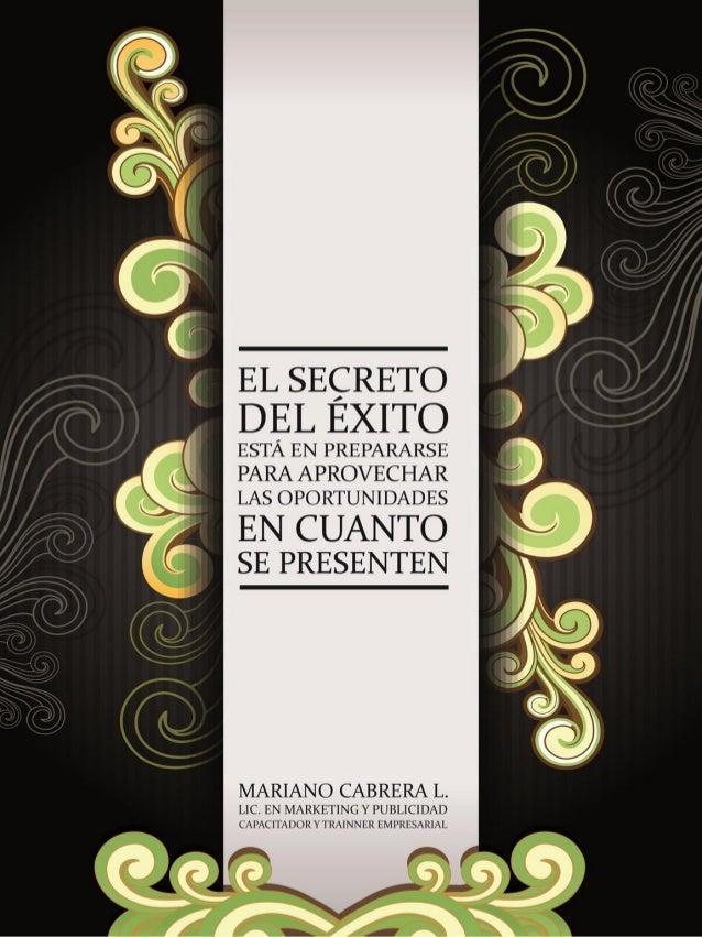 ¿Quién es Mariano Cabrera Lanfranconi? • Licenciado en Marketing y Publicidad (Universidad de Palermo, Argentina) • Ex Ger...