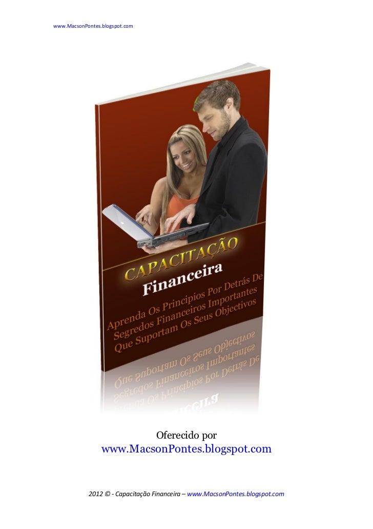 www.MacsonPontes.blogspot.com                                 Oferecido por                 www.MacsonPontes.blogspot.com ...