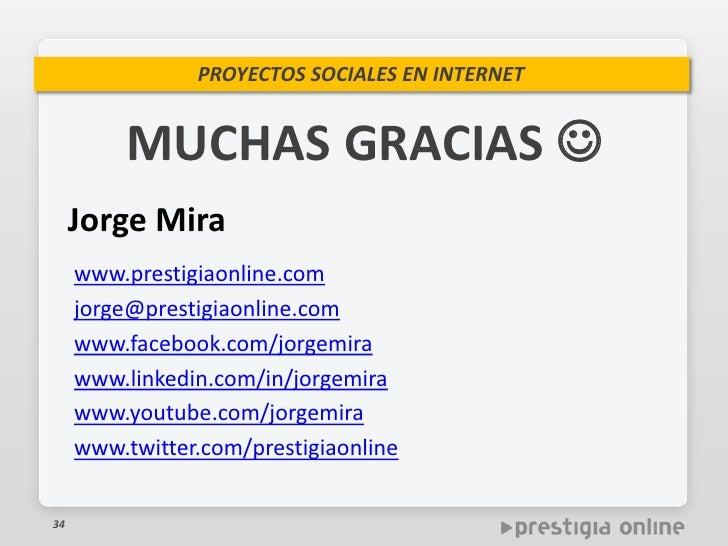 Promoci n de proyectos sociales en internet for Caja madrid es oficina internet